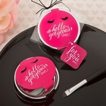 Hello Gorgeous Mirror in Hot Pink Favors