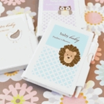 Notebook Baby Shower Favors