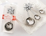 Snowflake Measuring Spoons Favors