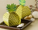 Tropical Treats Oversized Pineapple Favor Box 24 Pack