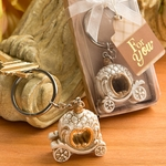 Vintage Fairy Tale Pumpkin Coach Key Chain Favors