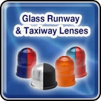 Glass Runway and Taxiway Lenses - Airport Lighting