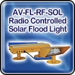 Avlite AV-FL-RF-SOL Radio Controlled Solar Flood Light