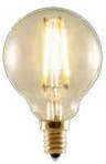 BULBRITE 2W G16 Antique LED Filament Light Bulb - 776506