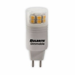 BULBRITE 3W T4 120V LED Soft White Light Bulb – GY6  Base – 770560