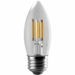 Eiko Filament Decorative LED5WB11E26/FIL/827K-DIM-G6 Light Bulb