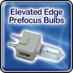 Elevated Edge Light Bulbs - 2-Pin prefocus Bulbs - Airport Lighting