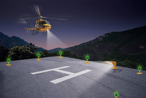 Heliport Lights Helipad Lighting Systems Heliport Beacons