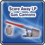 Scare Away LP Gas Cannons