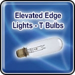 Elevated Edge Lights - T Bulbs - Airport Lighting