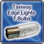 Taxiway Edge Lights - T Bulbs - Airport Lighting