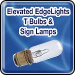 Elevated Edge Lights - T Bulbs & Sign Lamps - Airport Lighting