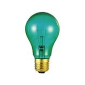 Westinghouse 25A/TG - A19 Green Incandescent Light Bulb