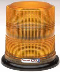 Whelen Super-LED Beacon Light - Magnetic/Suctin Mount - 12VDC  - L22HAV