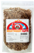 Dried Mealworms - 3.5 oz