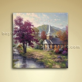 Classical Abstract Landscape Painting Oil On Canvas Wall Art Home Decor