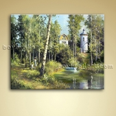 Classical Landscape Oil Painting Picture Oil Canvas Wall Art Home Decor