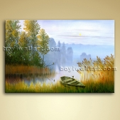 Classical Landscape Painting Picture Oil Canvas Wall Art Home Decor