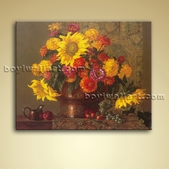 Classical Oil Painting Oil On Canvas Sunflower Still Life Gallery Wrapped