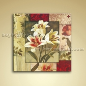 Contemporary Abstract Floral Painting Oil Canvas Wall Art Home Decor
