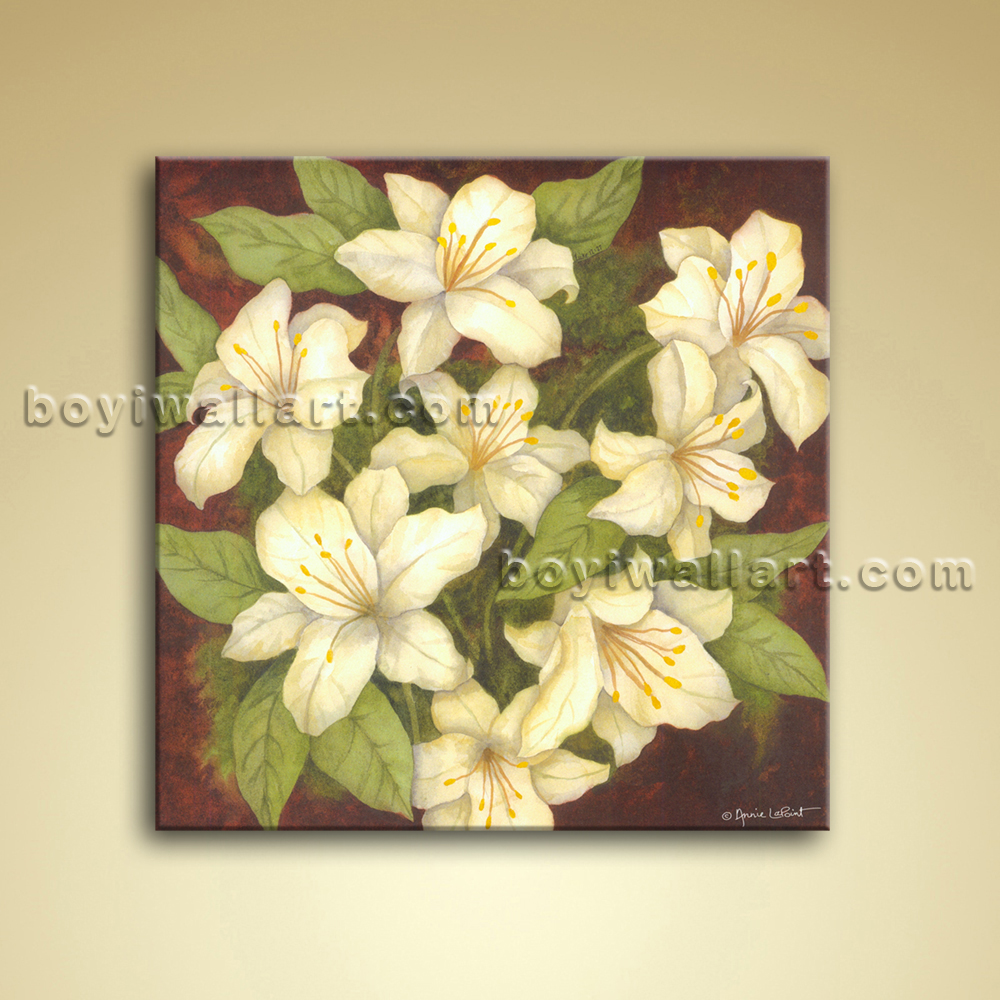 Outstanding Canvas Floral Wall Art Component - Wall Art Ideas ...