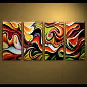 extra large Wall Art Abstract Painting Home Decoration Ideas Canvas Modern