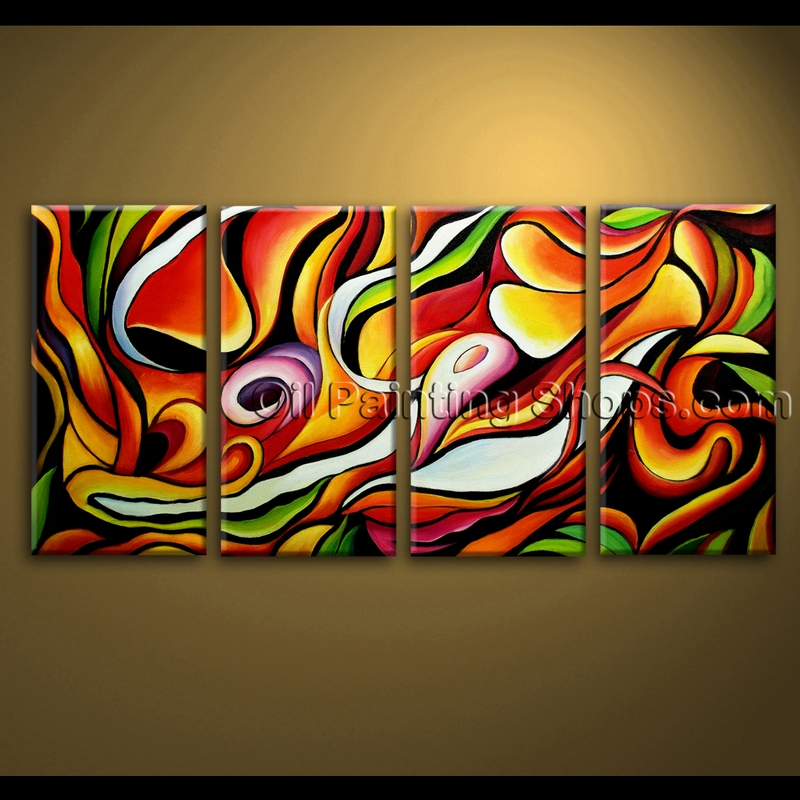 Abstract oil painting ideas