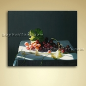 Food And Beverage Pictuire Oil Canvas Wall Art For Kitchen Home Decor