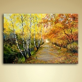 Landscape Painting Picture Giclee Oil On Canvas Wall Art Home Decor