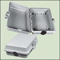 ENCLOSURE, 1-PORT 9-IN X 6-IN POLYPROPYLENE GRAY