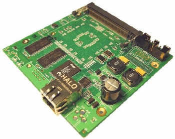 GATEWORKS GW2347 PROCESSOR BOARD, 1 LAN / 1 MINI-PCI