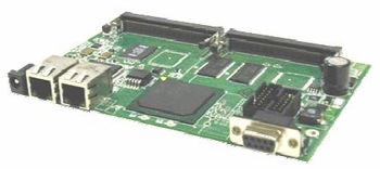 GATEWORKS GW2348-2 PROCESSOR BOARD, 2 LAN / 2 MINI-PCI