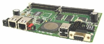 GATEWORKS GW2348-4 PROCESSOR BOARD, 2 LAN / 4 MINI-PCI