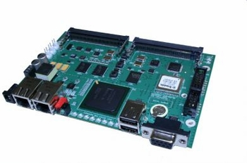 GATEWORKS GW2358-4 PROCESSOR BOARD 2 LAN / 4 MINI-PCI