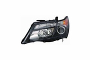 Acura MDX 10-13 Headlight Unit Base Technology Model RH USA Passenger Side
