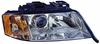 Audi A-6 98-01 (6 CYL)  Headlight Assembly RH USA Passenger Side Halogen FWD&AWD QUATTRO 00 from VINY046632TO 01