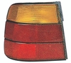 BMW 5 Series Sedan 89-95 Tail Light Assembly LH USA Driver Side Amber / RED