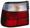 BMW 5 Series Sedan 89-95 Tail Light Assembly LH USA Driver Side white / RED