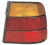 BMW 5 Series Sedan 89-95 Tail Light Assembly RH USA Passenger Side Amber / RED