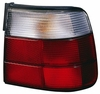 BMW 5 Series Sedan 89-95 Tail Light Assembly RH USA Passenger Side white / RED