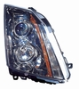 Cadillac CTS / CTSV 08-12 / CTS Wagon 10-12 Headlight Assembly Halogen RH USA Passenger Side
