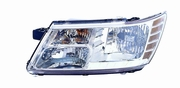 Dodge Journey 09-11 Headlight Assembly Code LME LH USA Driver Side
