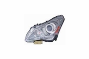 Infiniti G-37 Sedan 10-13 / G25 11-12 Headlight Assembly Base.JOURNEY Sport Model LH USA Driver Side