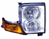 Jeep Commander 06-10 Headlight Assembly Halogen RH USA Passenger Side