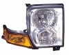 Jeep Commander 06-10 Headlight Assembly Halogen RH USA Passenger Side CAPA