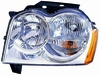 Jeep Grand Cherokee 05-07 Headlight Assembly LH USA Driver Side CAPA