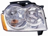 Jeep Grand Cherokee 05-07 Headlight Assembly RH USA Passenger Side CAPA
