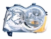 Jeep Grand Cherokee 08-10 Headlight Assembly Halogen LH USA Driver Side