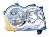 Jeep Grand Cherokee 08-10 Headlight Assembly Halogen RH USA Passenger Side
