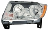 Jeep Grand Cherokee 11-12 Headlight Assembly Halogen LH USA Driver Side CAPA